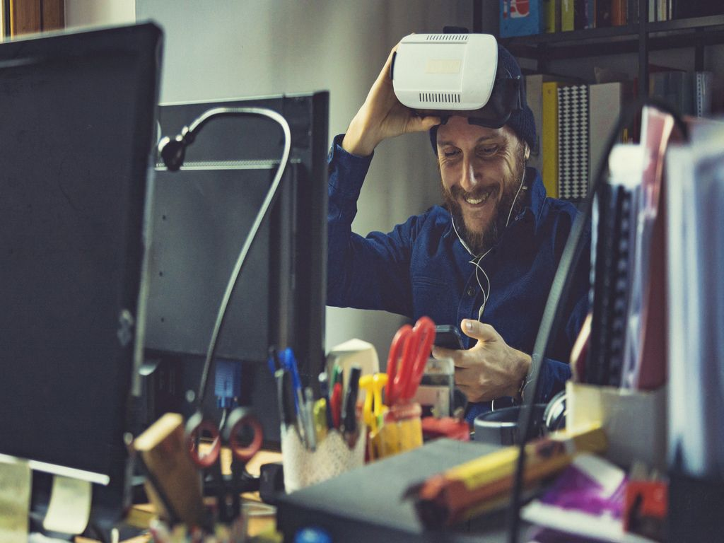 AR/VR Augmented Reality and Virtual Reality